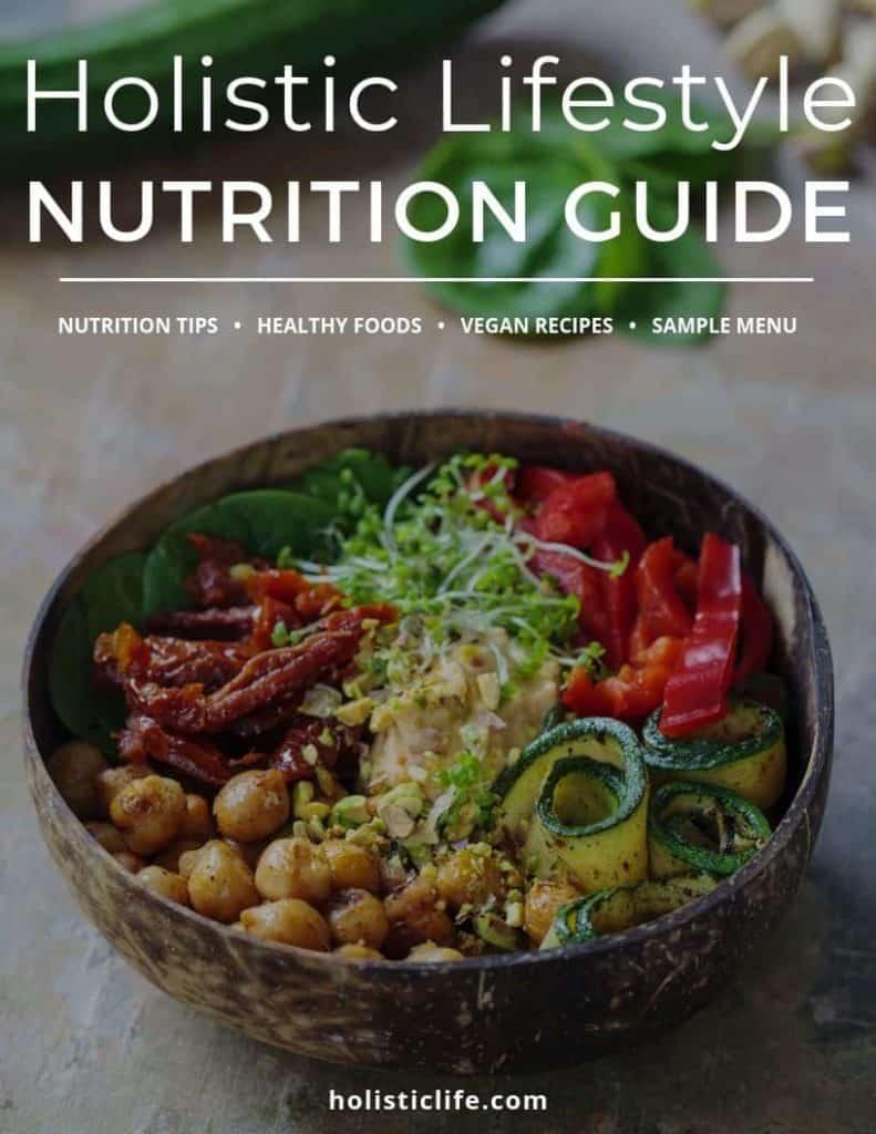 Holistic Lifestyle Vegan Nutrition Guide